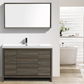 European contemporary Italian design, bathroom vanity, soft close drawers, matching mirrors, medicine cabinets, Italian design bathroom vanity, cast-polymer washbasins