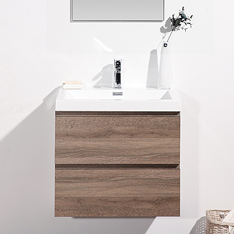 CATANIA Series Bathroom Vanity, ready-made vanity for fast installation, matching mirrors and medicine cabinets available