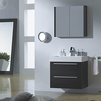 RIMINI Series Bathroom Vanity, bathroom solutions, certified premium quality melamine, soft close hardware, space saving drawers, high quality cast-polymer washbasins, accommodate plumbing