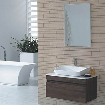 YOLANDA Series Bathroom Vanity, ready-made vanity for fast installation, matching mirrors and medicine cabinets available