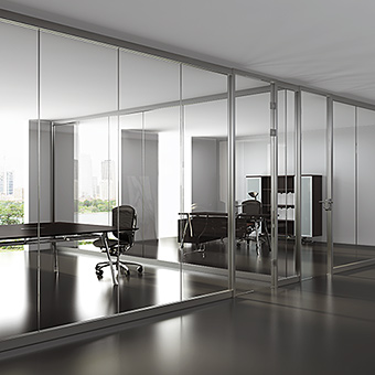 wall partition systems, semi frameless wall partitions
