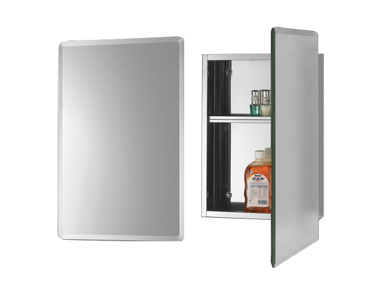 linear interior systems medicine cabinets and backlit mirrors asm 812 polished stainless steel medicine cabinets stainless steel backlit mirrors high end stainless steel medicine cabinets rectangular chamfered mirror medicine cabinets rectangular chamfered mirror stainless steel medicine cabinets image