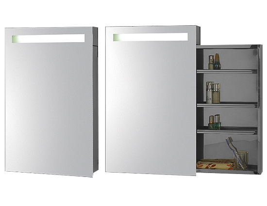 linear interior systems medicine cabinets and backlit mirrors asm 908 mirror with aluminum cabinet aluminium medicine cabinet rectangular aluminum medicine cabinet image