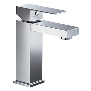 32 118/1-CR Single Lever Lavatory Faucet with pop up waste