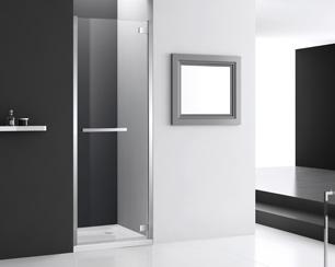 COMO-CMHD Hinged Shower Door Enclosure