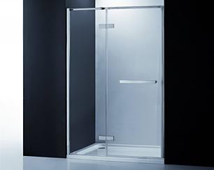 COMO-CMHDP Hinged Shower Door with Panel