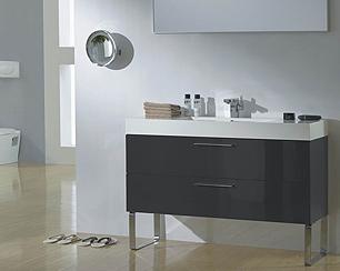 linear interior systems l1200 bathroom vanity wide bathroom vanity wide bathroom vanity with wenge finish wide walnut finish vanity wide oak finish vanity wide alamo oak finish vanity image