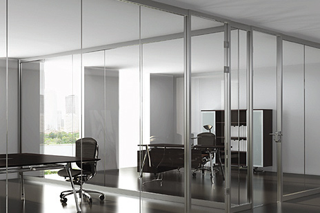 wall partitions, modular office space, cubicles, frameless wall partitions, commerical offices
