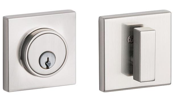 T150 Series square deadbolt, T150, T151, square deadbolt