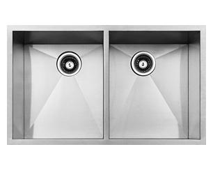 stainless steel sink, kitchen sink, laser welded sink, undermount sink, centre drain sink, kitchen plumbing fixtures, UPC approved sink