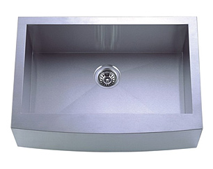 stainless steel sink, oversized sink, single sink, large kitchen sink, laser welded sink, undermount sink, centre drain sink, kitchen plumbing fixtures, UPC approved sink, matt finish sink