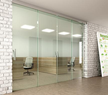 Mechanisms for Glass Drag Doors