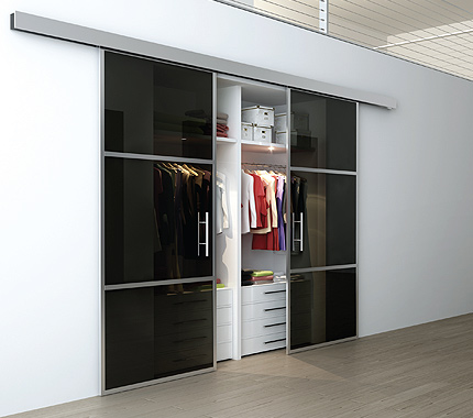 Sliding Aluminum Doors Linear Interior Systems