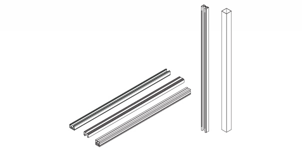 wall partition track components