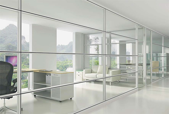 Linear interior systems for Interior design partition wall