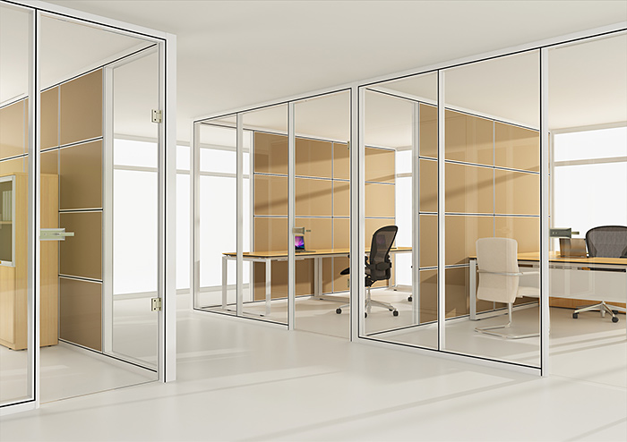 Series 5200 Framed Wall Partition Systems Linear